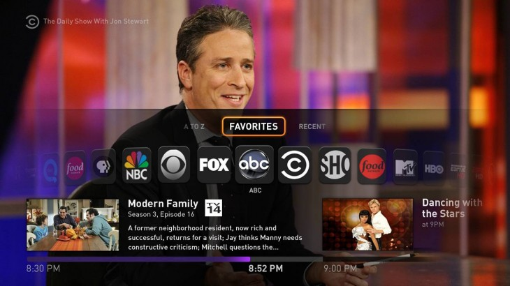 Fan TV Live TV Favorites 730x410 Fanhattan unveils Fan TV, a tiny set top box with live broadcasting, DVR and on demand streaming
