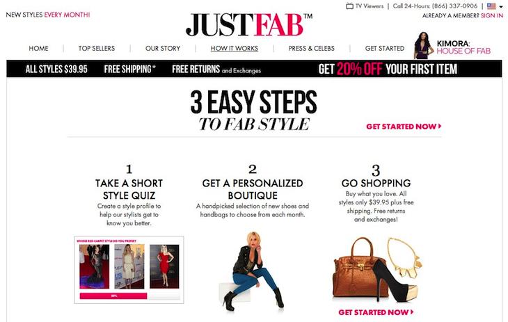 How JustFab Works   JustFab