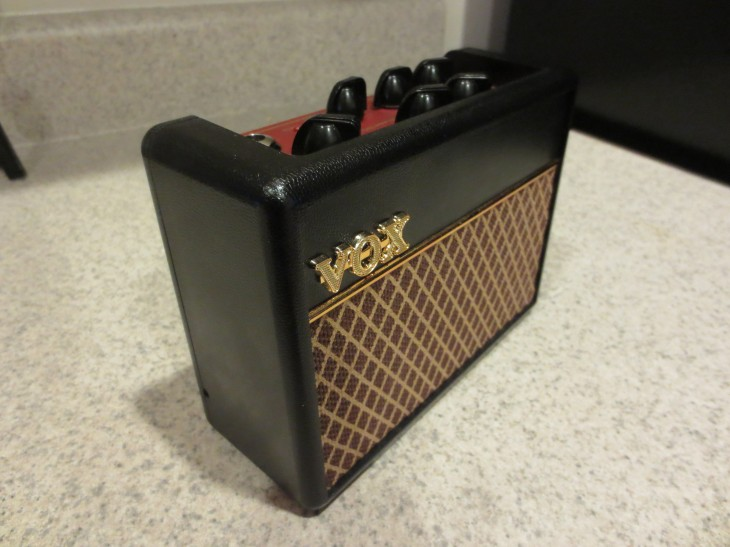 The Vox AC1RV is a mini guitar amp with loads of features in a tiny form factor