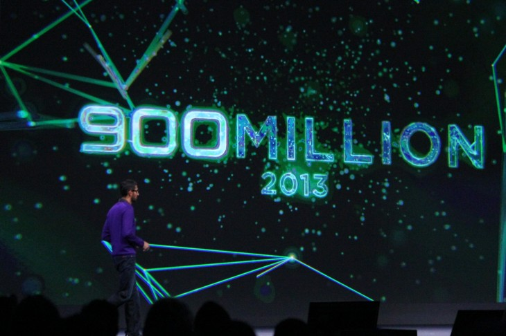 Google announces 900 million Android activations, 48 billion apps downloaded