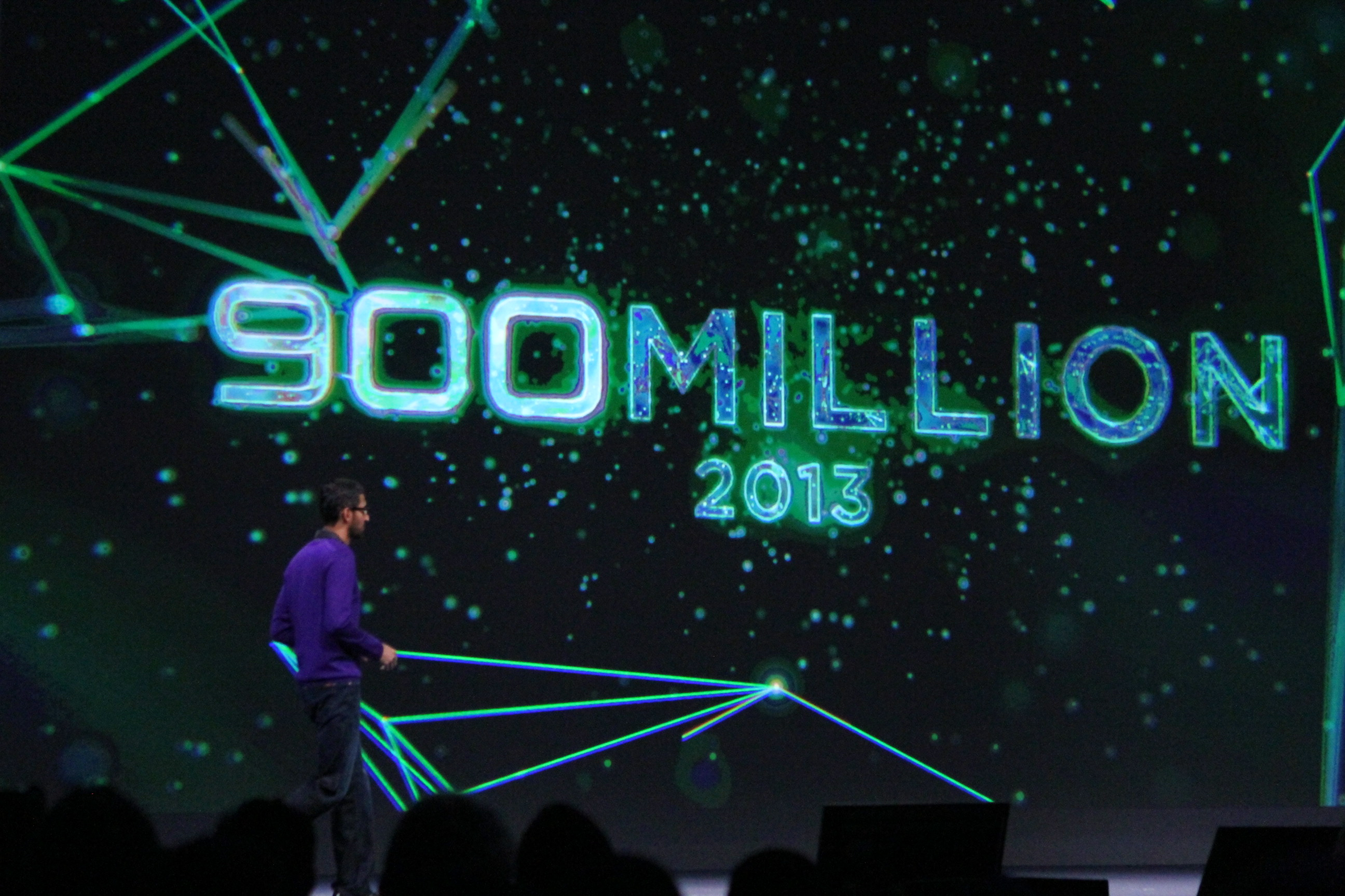 Google Announces 900M Android Activations, 48B Apps Downloaded