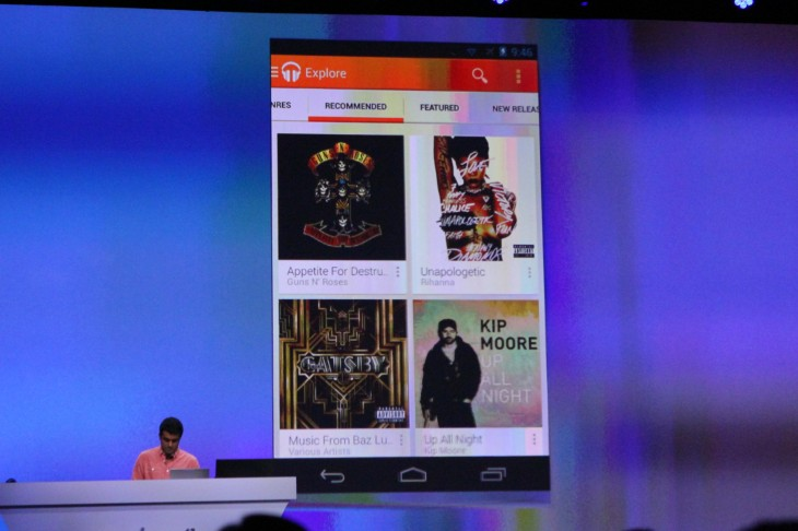 Google Announces Its Music Subscription Service to Google Play Music
