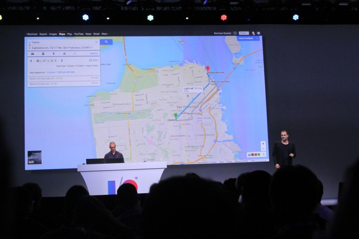 how to put google momentum on desktop