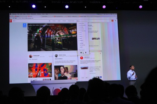 IMG 0559 520x346 Google announces 41 new Google+ features including Pinterest like card based Stream