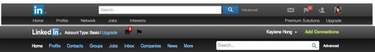 LinkedIn Screencap