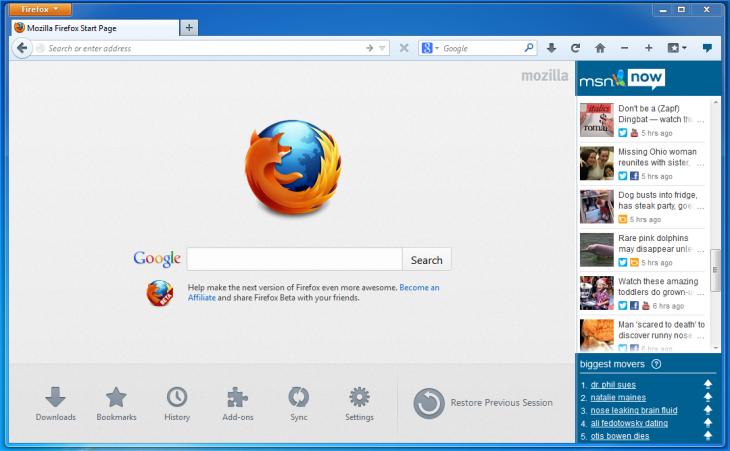 MSN-Screen-shot