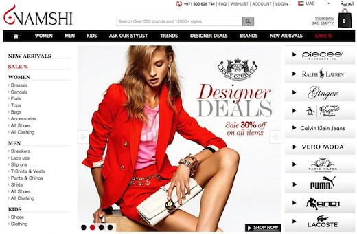 Online Fashion Shopping, Shoes, Clothing, Dresses   Namshi UAE (1)