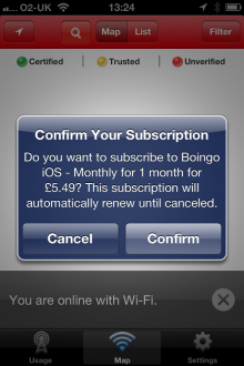 Photo 07 05 2013 13 24 23 220x330 You can now pay for WiFi with your iTunes account, as Boingo updates its Wi Finder iOS app