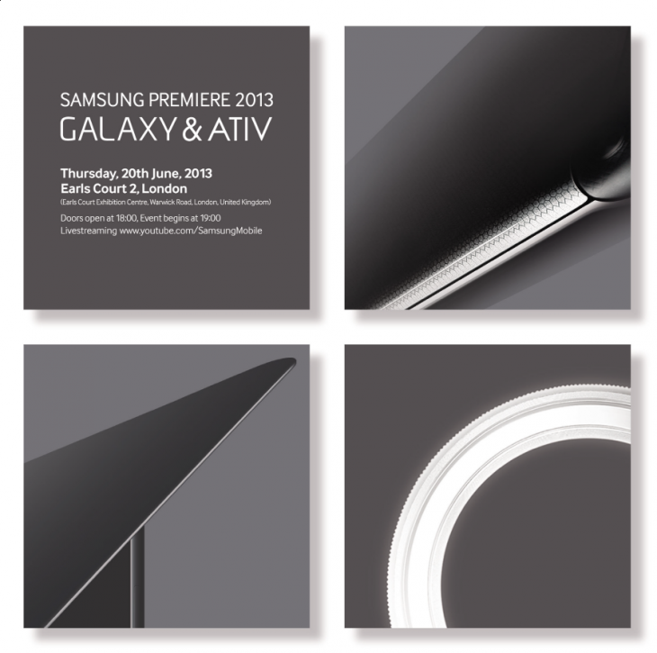 Samsung Premiere 2013 Will Unveil New Galaxy and ATIV Devices