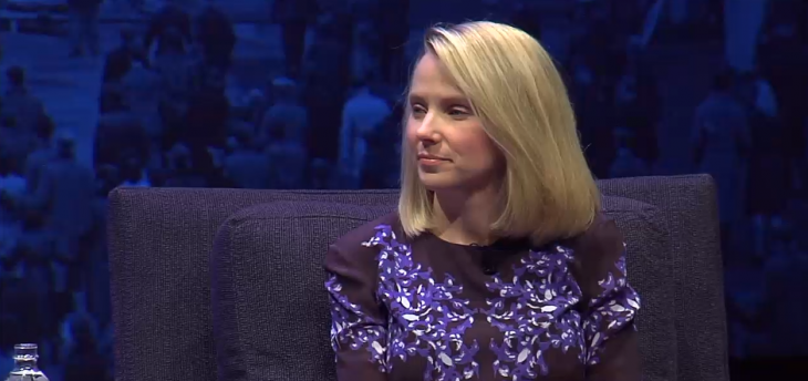 Yahoo's Marissa Mayer says most of the innovation in search will happen in user interface and voice ...