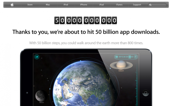 Screen Shot 2013 05 15 at 4.54.39 PM 730x444 Apple passes 50 billion App Store downloads, on track to hit 75 billion before the end of 2013