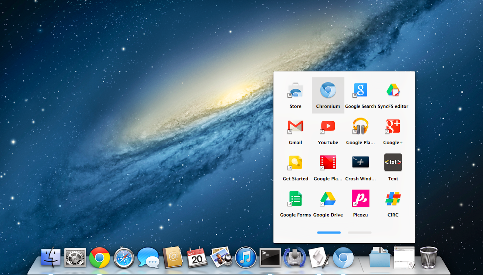 Google Ports Chrome OS App Launcher to Chromium for Mac
