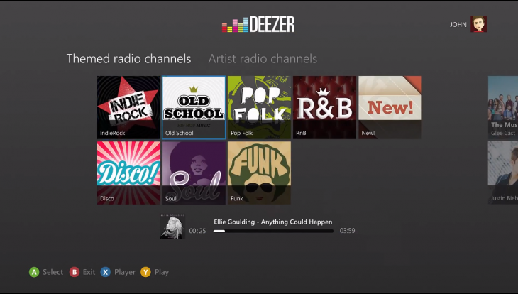 Screen Shot 2013 05 21 at 09.29.36 730x414 Deezer launches Xbox 360 app for its on demand music streaming service to combat Xbox Music