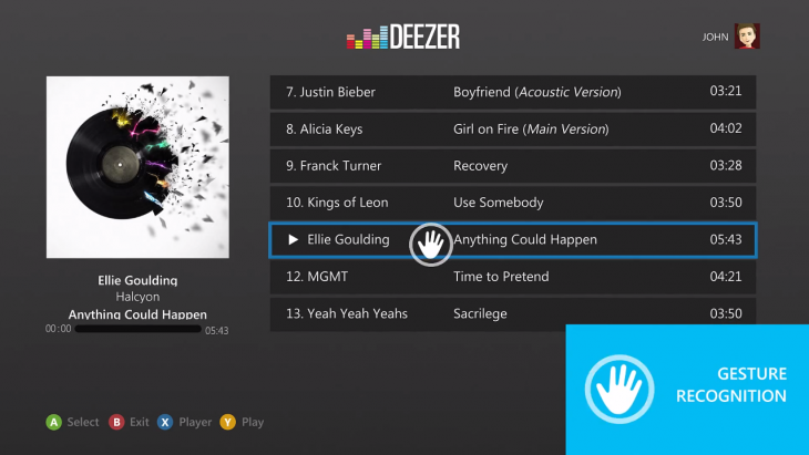 Deezer Launches Xbox 360 App For Its Music Streaming Service