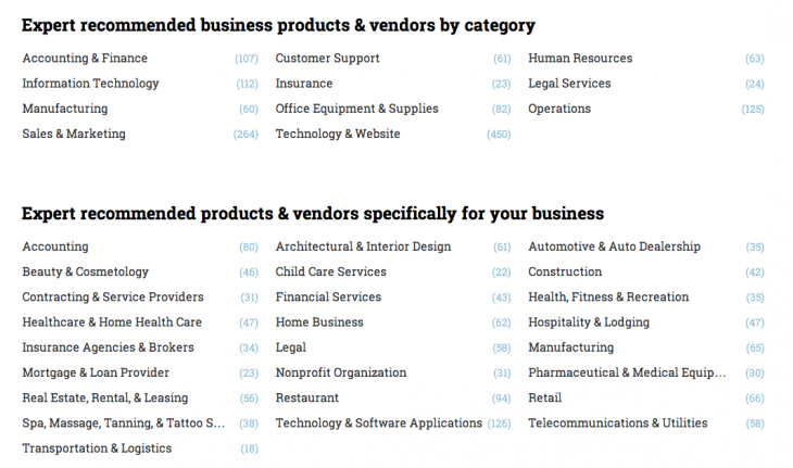 Screen Shot 2013 05 22 at 2.18.12 PM 730x431 Docstoc launches ExpertCircle, a product and vendor peer reviewed service for SMBs