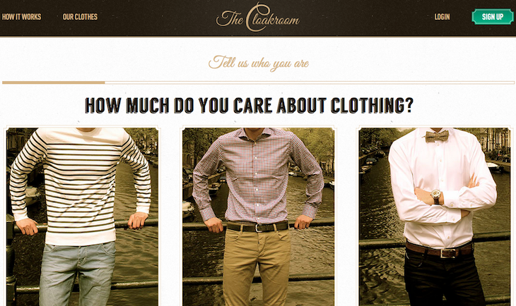 The Cloakroom Lands $100K To Fix Clothes Shopping For Men
