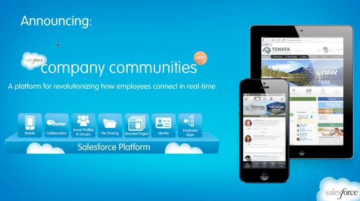 Screen Shot 2013 05 29 at 3.09.26 PM 730x409 Salesforce launches Company Communities to turn archaic Intranets into a mobile and social platform