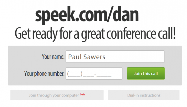 Speek1 730x418 Speek easy: This startup wants to disrupt the conference call market with simplicity and WebRTC