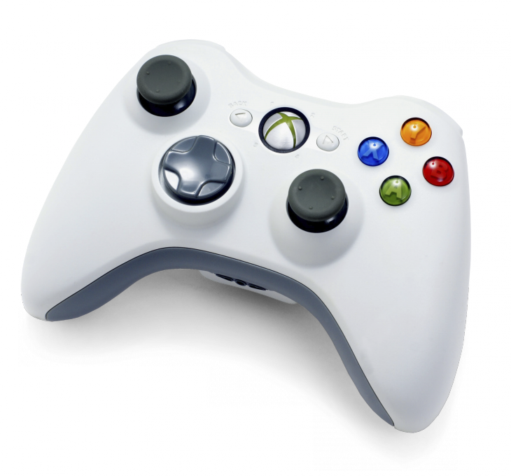 Xbox 360 white wireless controller 730x680 Microsoft introduces new controller for Xbox One console with redesigned d pad