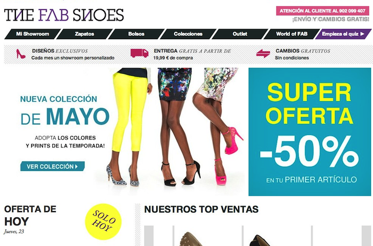 Zapatos de mujer, comprar zapatos online - The Fab Shoes