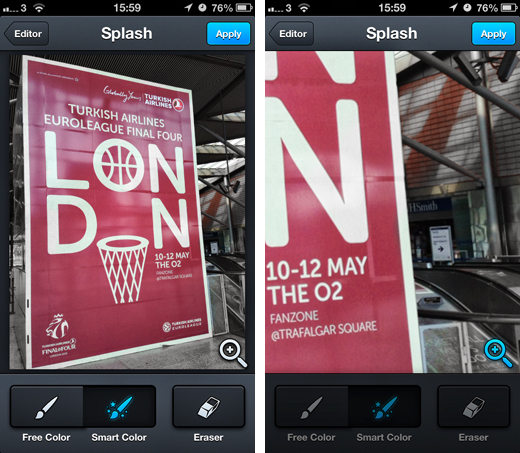 aviary2 Aviary's Photo Editor app for iOS gets Splash, a new tool to help users selectively strip out color