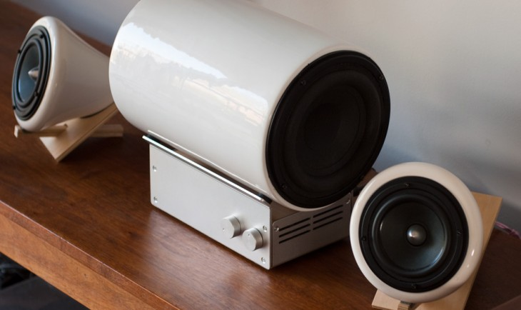 $1,000 Ceramic Speakers? You Know You Want Them