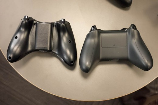 ces 10 520x347 Hands on: The Xbox One controllers refined d pad and 4 independent vibrators