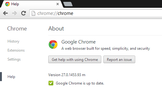 Google Chrome 27 is Out: 5% Faster Page Loads