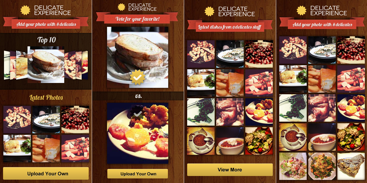 Food banners ideas