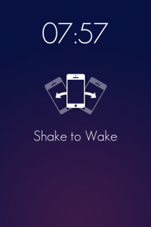 f10 220x330 Wake is a beautiful iOS alarm clock app that lets you slap, flip, shake and swipe yourself out of bed