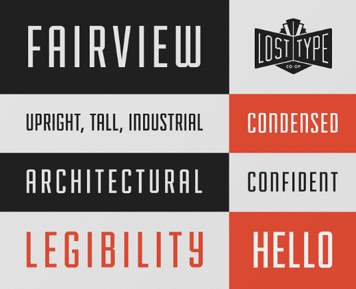 fairview 30 of the most beautiful typeface designs released last month (April)