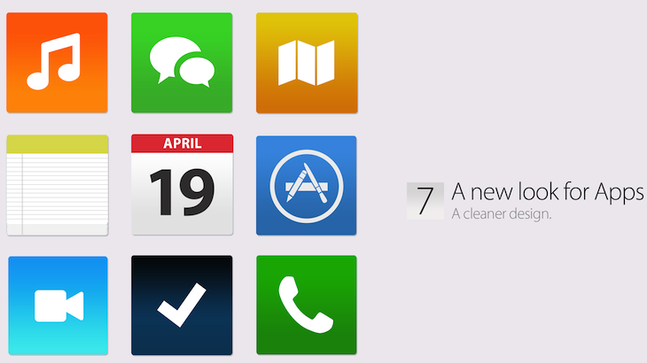 new apps ios7 concept