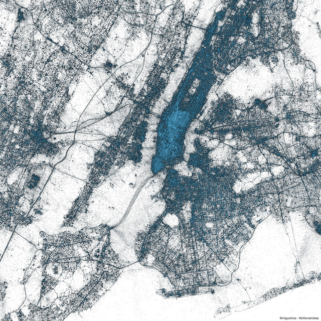 new york city Twitter creates stunning images of New York City, Tokyo and Istanbul using only geotagged Tweets
