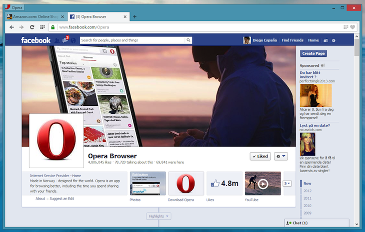 opera win facebook Opera releases new Chromium powered desktop browser for Mac and Windows