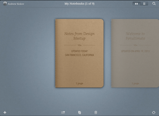 Evernote Updates Penultimate With Smart Titles And Improved Syncing