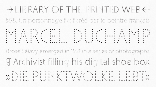 selavy 30 of the most beautiful typeface designs released last month (April)