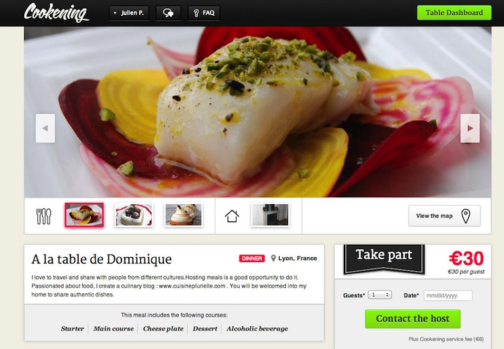 table2 Eat like a local? How about eat with a local? Cookening whips up an Airbnb for meals