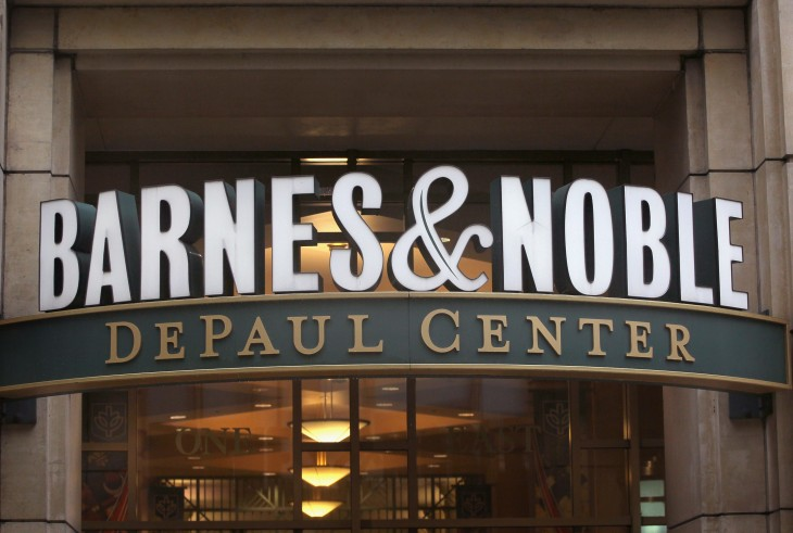 Barnes & Noble CEO William Lynch resigns as the company exits the Nook tablet business