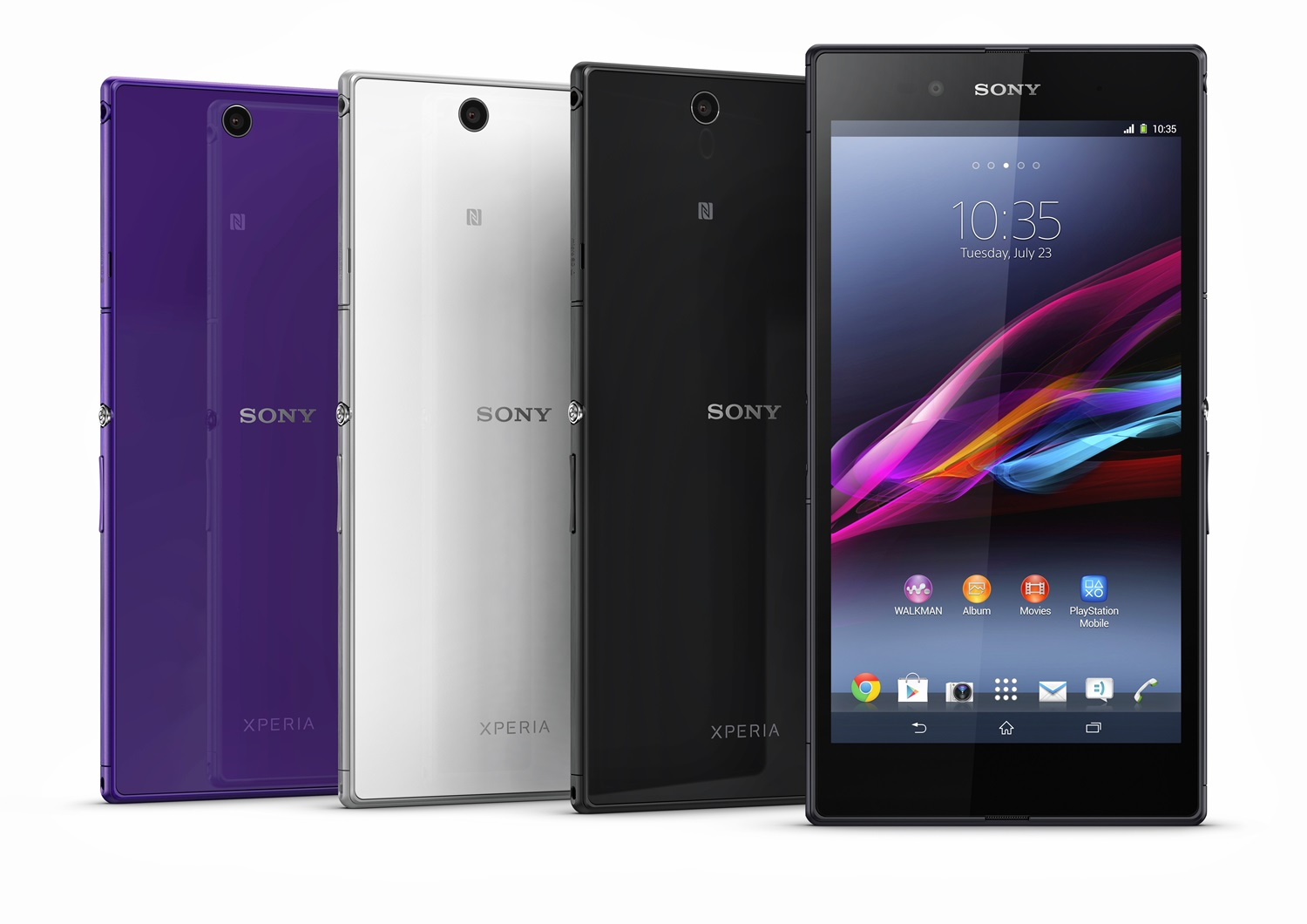 Sony Unveils WiFi-Only Xperia Z Ultra In Japan