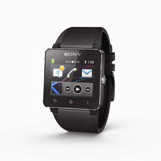 1 Smartwatch 2 Black Angled 520x520 Sony SmartWatch 2 brings Android and NFC compatibility, no Sony smartphone required