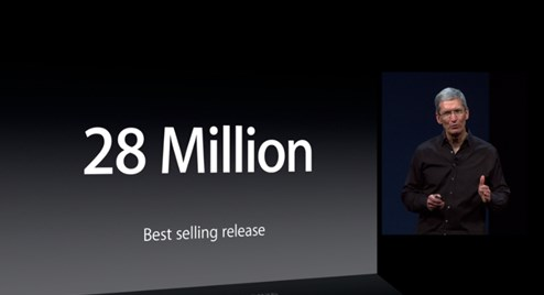 2013 06 10 10h34 54 Apple: Mac install base now 72 million, up 100% in 5 years, 28 million copies of Mountain Lion sold