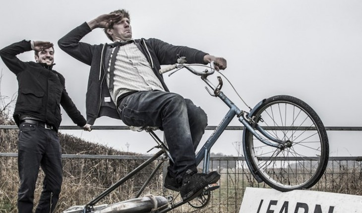 Brilliant, crazed Brit straps a jet engine onto a bike and rides it to ludicrous speeds