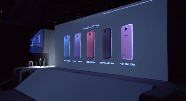 2013 06 20 11h16 29 Samsung unveils new purple, red, brown and pink color variants for the Galaxy S4