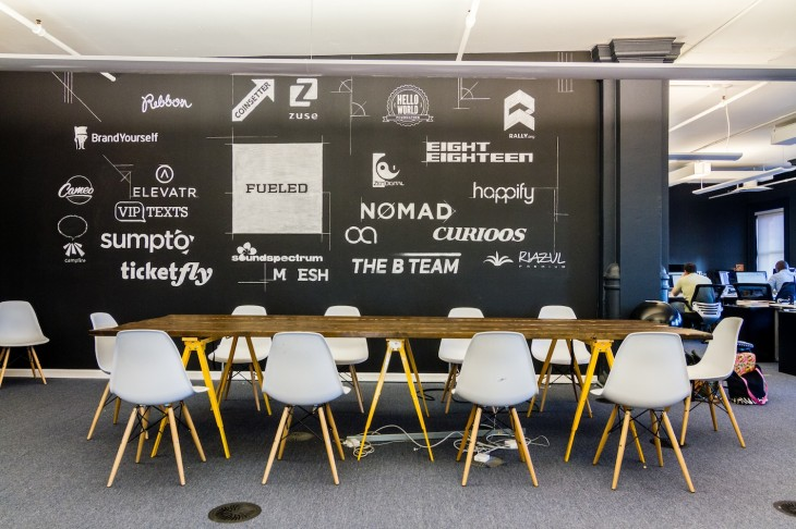Design and development firm Fueled officially launches its boutique startup coworking space in New York ...