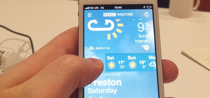 The BBC launches a new standalone Weather app for iOS and Android