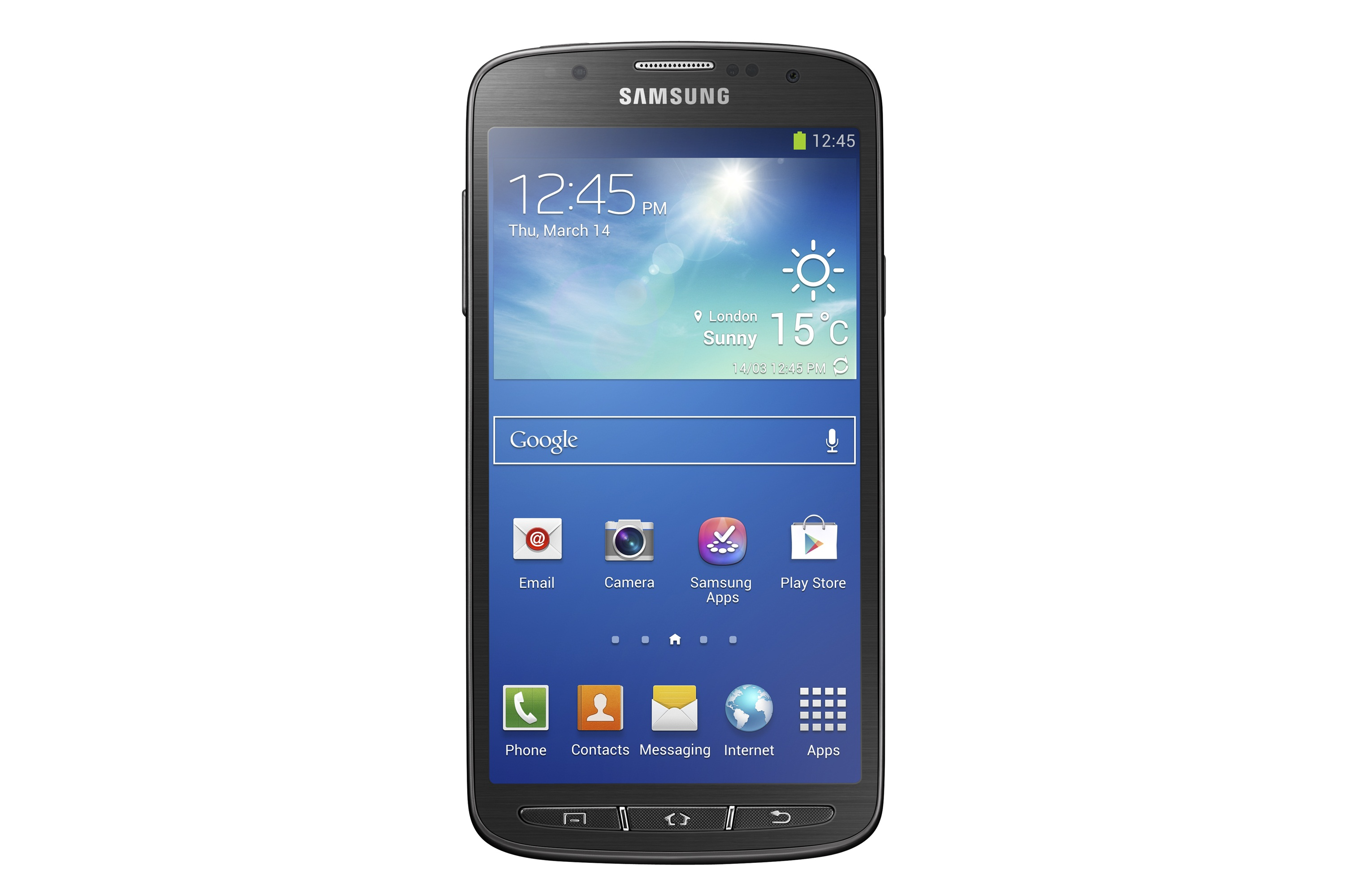 """Samsung Unveils 5"""" Galaxy S4 Active Android Smartphone"""