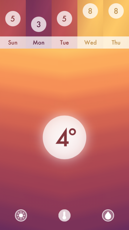 Haze-Local-Current-Temperature-Display
