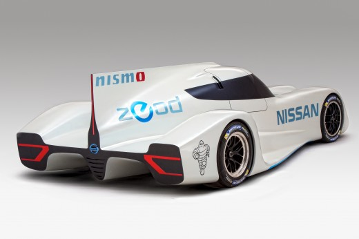 Nissan ZEOD RC 9 520x346 Nissan readies 300KM/h electric hybrid called the ZEOD RC for Le Mans 24 hour race next year