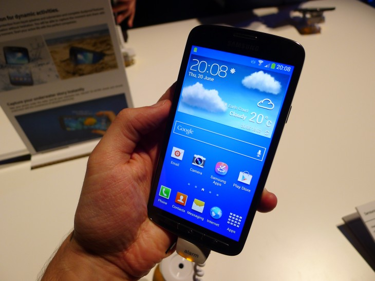 Samsung Galaxy S4 Active hands-on: A no compromise Android smartphone fit for the great outdoors
