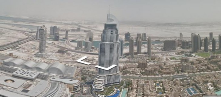 Google takes Street View to the top of Dubai's Burj Khalifa, the world's tallest manmade ...